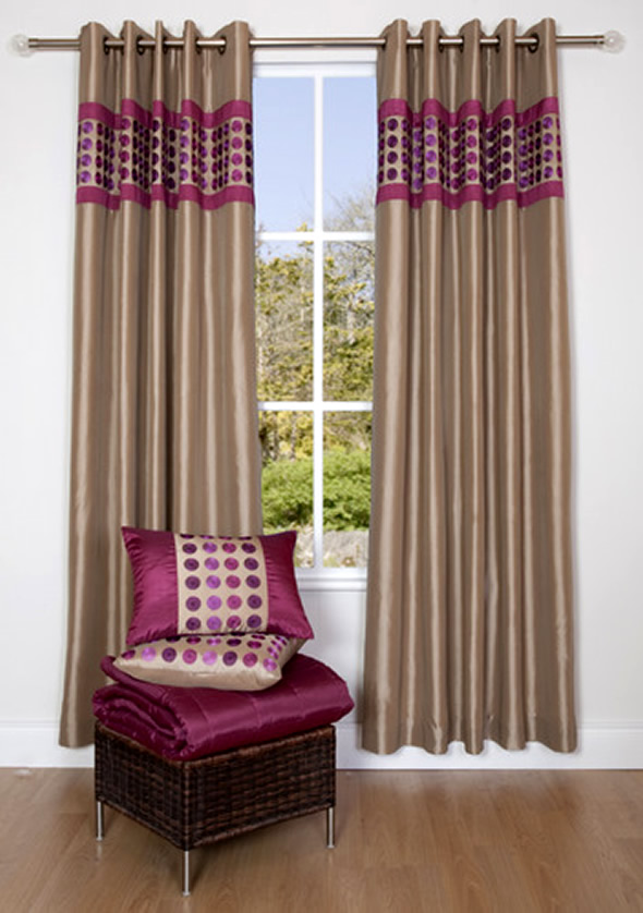 modern furniture modern curtains design 2011 for windows. Black Bedroom Furniture Sets. Home Design Ideas