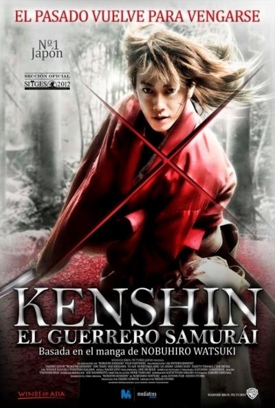 Kenshin el guerrero samurái DVDRip Castellano
