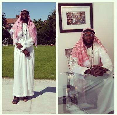 emmanuel adebayor masuk islam