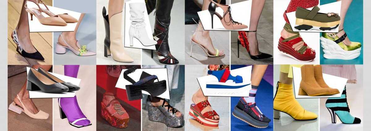 scarpe tendenza primavera estate 2017