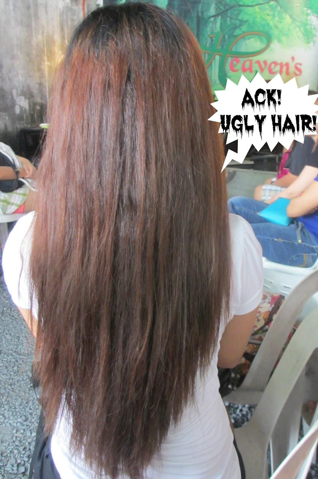 real asian beauty: hair rebond at heaven's salon and spa
