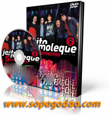 DVD Jeito Moleque - 5 Elementos