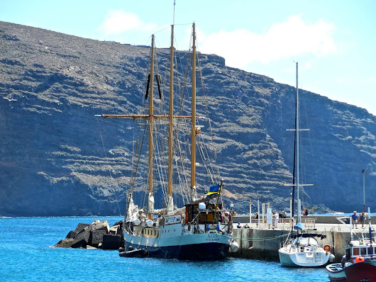 Another sail training ship visits Vueltas
