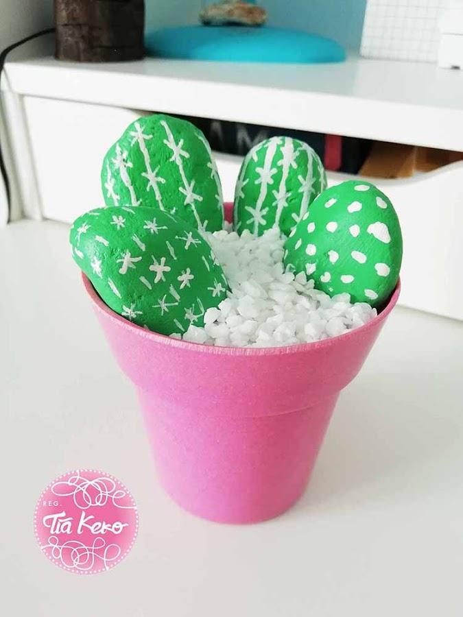 Como-hacer-un-cactus-de-piedras