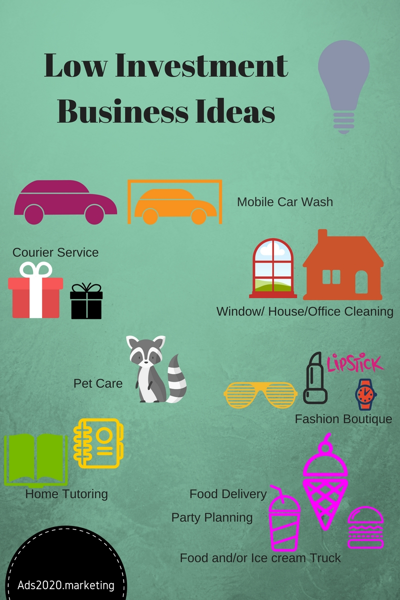 10 low investment business ideas to yield high profit ads2020