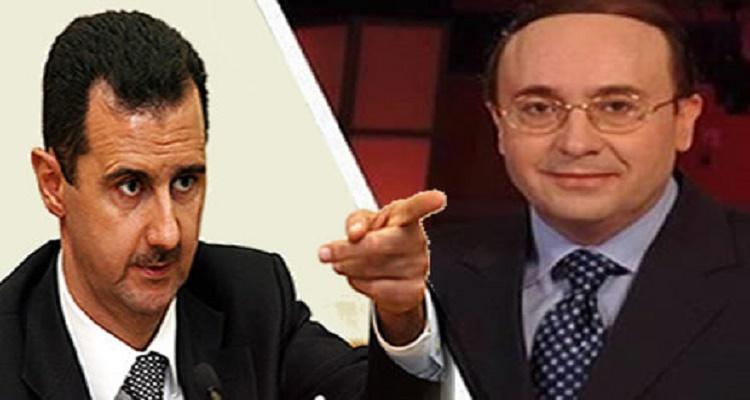 فيصل القاسم يفاجأ الجميع بكلام لا يصدق ساعات بعد وفاة والدة بشار الأسد