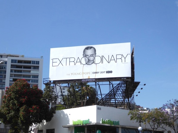 Young Pope 2017 Emmy FYC billboard
