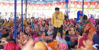 Arinal Bersholawat Bersama Ribuan Masyarakat Lampura