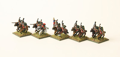 1st place: 7th French Hussars, by MIG - wins £20 Pendraken credit, and a copy of the new 'Paints' magazine from Wargames Illustrated!