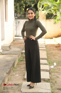 Tollywood Actress Punarnavi Bhupalam Latest Po Gallery in Black Trouser Pant at Pittagoda Movie Interview  0137.JPG