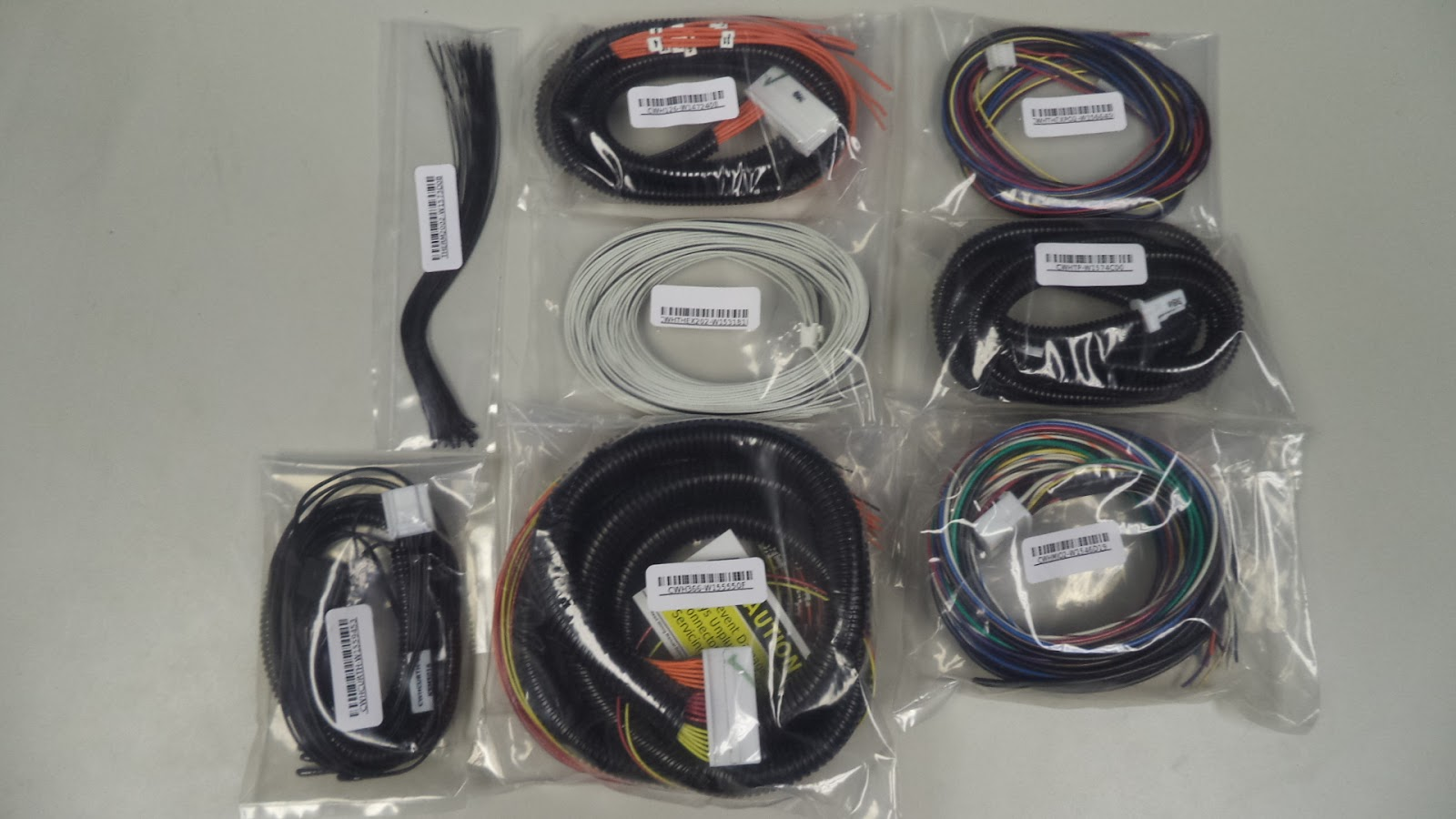Williams Ev Bimmer 325i Orion Bms 48 Cell Kit Controller For Tesla Wire Harness Dsc05619 Of The Multiple Wiring Harnesses Provided