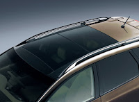 Stylish glass sunroof