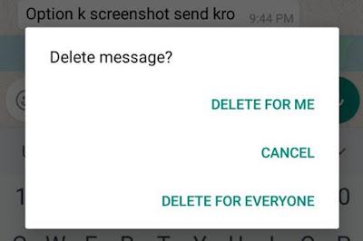 Cara Menarik Pesan Chat WhatsApp