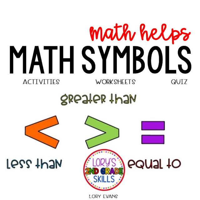 Math Symbols Activities