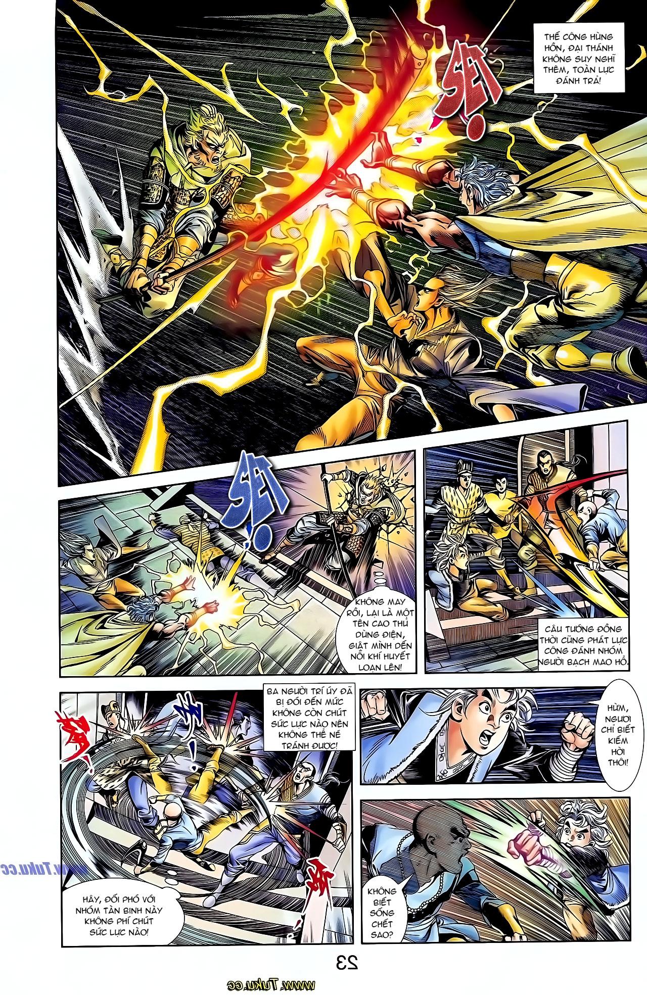 Cơ Phát Khai Chu Bản chapter 126 trang 6