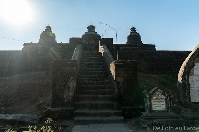 Pagode Dukkanthein - Mrauk-U - Myanmar Birmanie