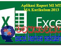 Aplikasi Raport MI MTs MA Kurikulum 2013