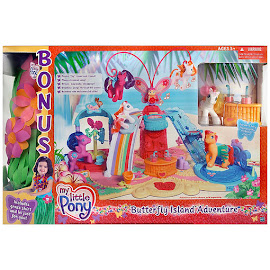 MLP Honolu-Loo Building Playsets Butterfly Island G3 Pony
