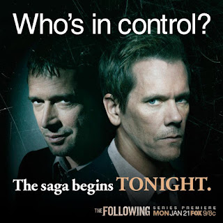 The Following series premiere tonite on FOX.