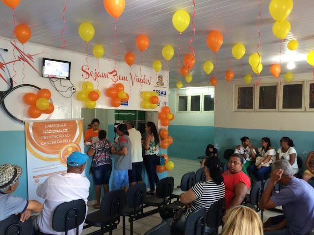 Ação de prevenção ao câncer de pele marca início do Dezembro Laranja em Alagoinhas
