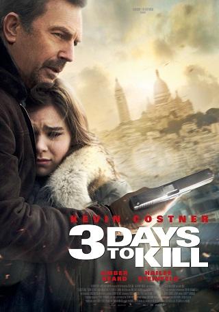 3 Days To Kill 2014 Dual Audio Hindi Full Movie 720p BluRay