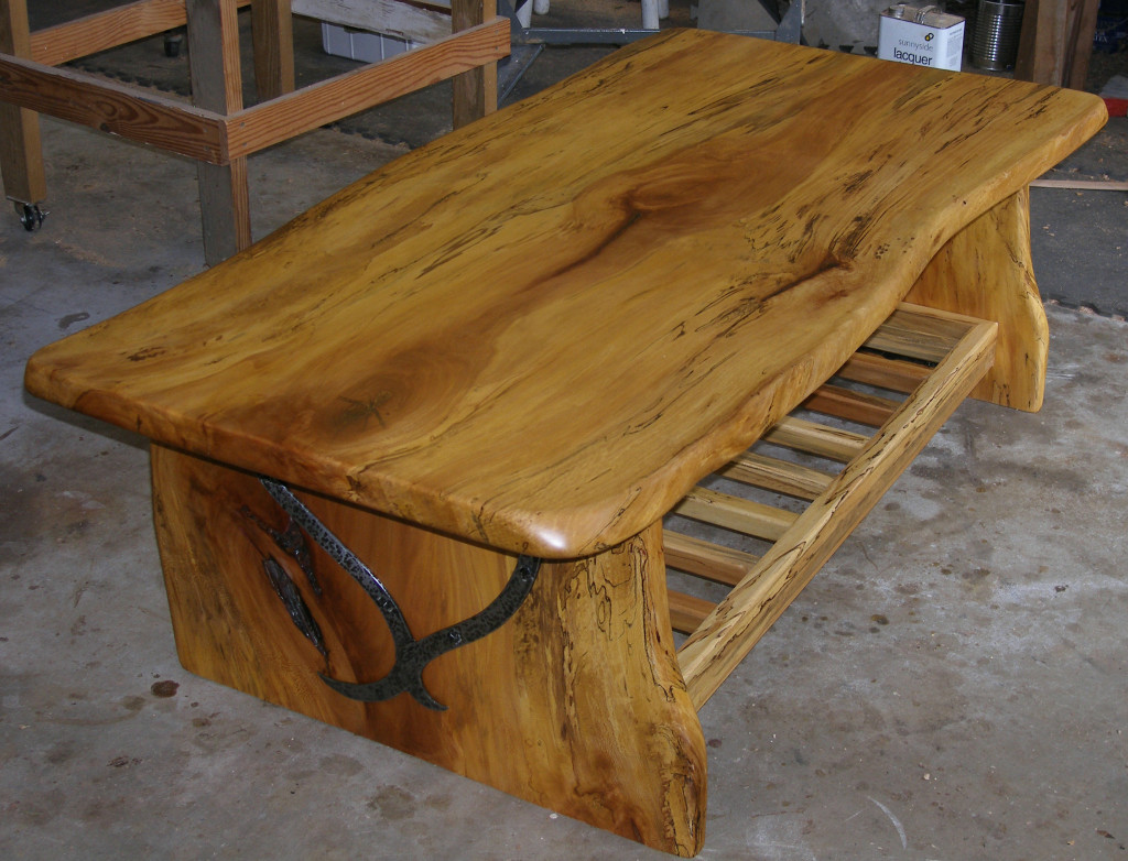 Beautiful handmade wood table furniture