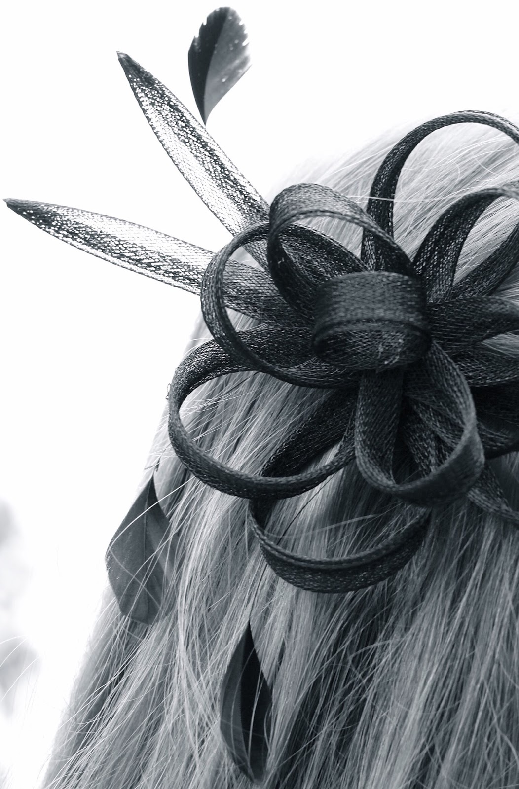 Claire's Accessories black feather fascinator