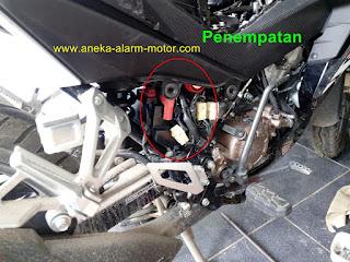 Cara pasang alarm motor Supra GTR 150