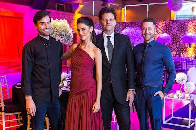 Hugo, Chris, Bertolazzi e Lucas (Crédito: Victor Silva /SBT)