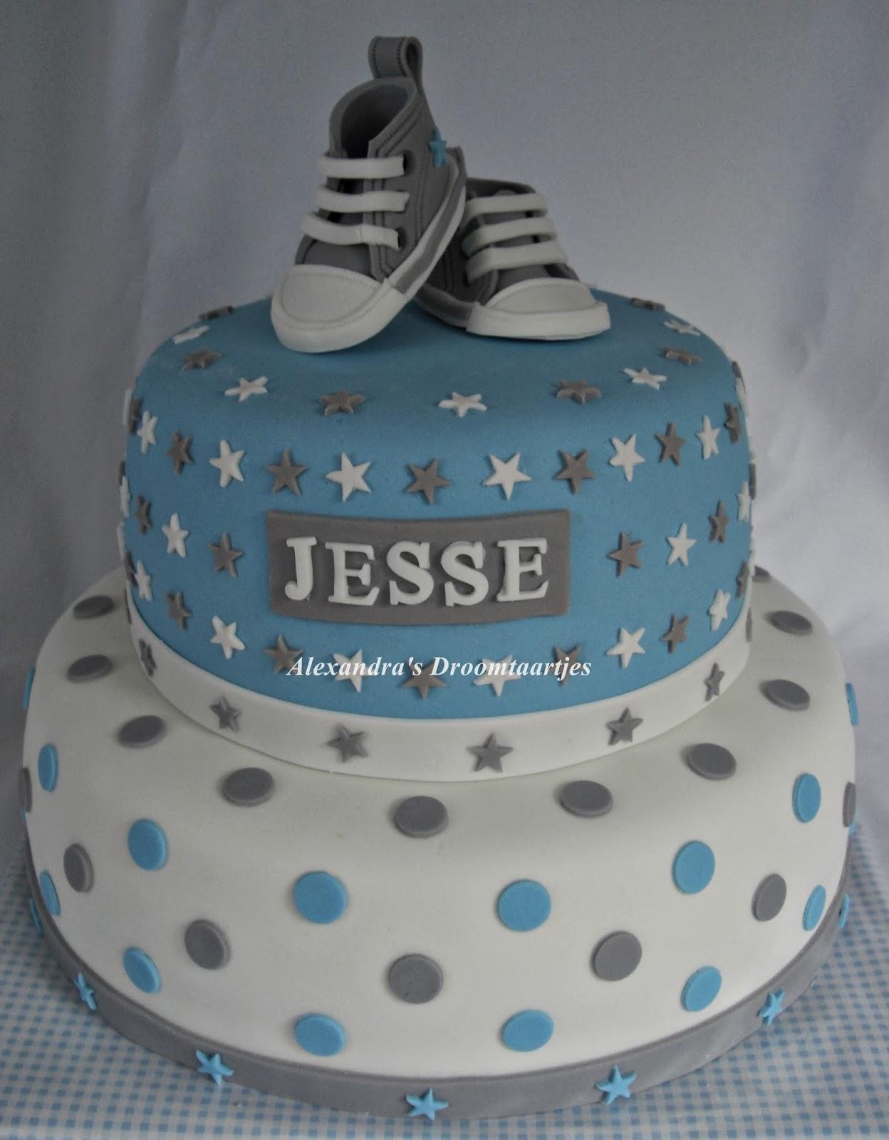 1 jaar taart Sneaker taart jongetje 1 jaar | Alexandra's droomtaartjes 1 jaar taart