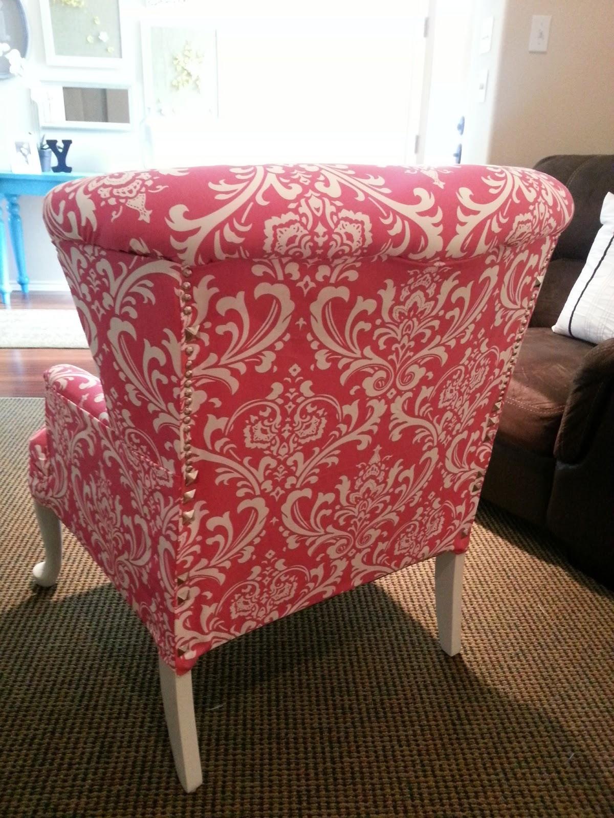 DIY: Chair Re-upholstery Tutorial