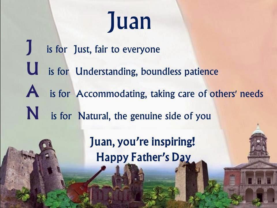 Side By Side Utv >> Acrostic Name Poems For Boys: Juan