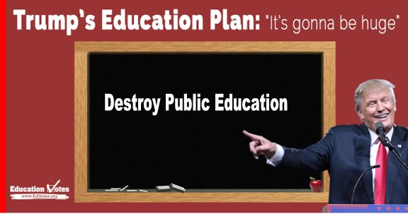 Image result for big education ape trump education