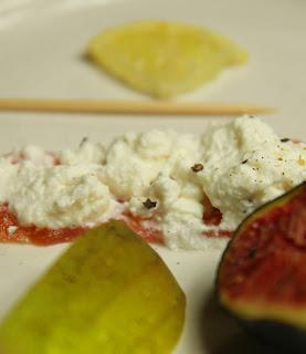 Fresh Figs, Smoked Salmon Appetiser Gluten-free Organic Recipe