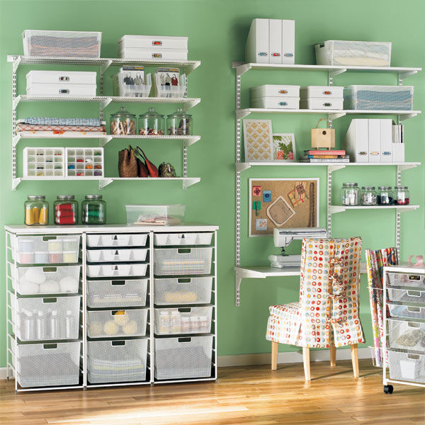 It's Written On The Wall: Organize Your Craft Supplies