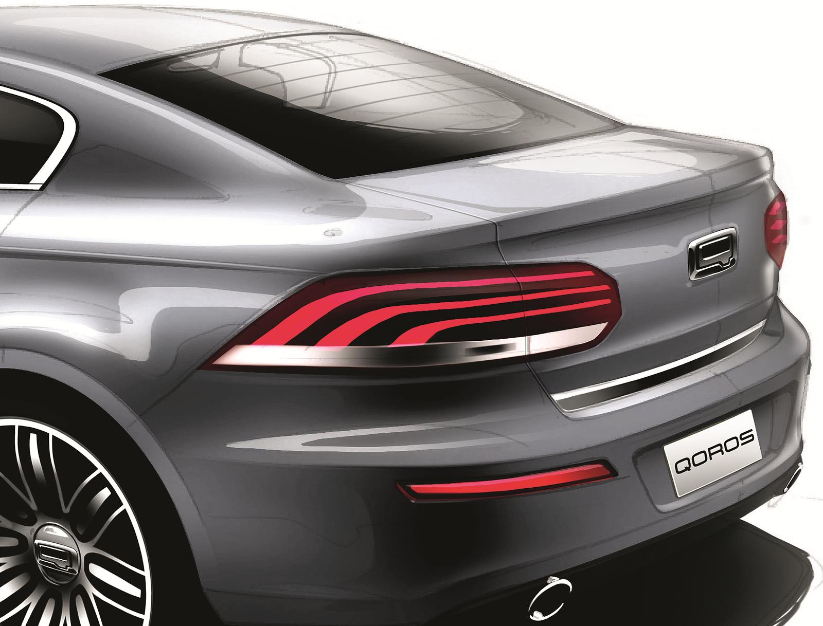 voiture du futur qoros la voiture du futur vue par les chinois. Black Bedroom Furniture Sets. Home Design Ideas