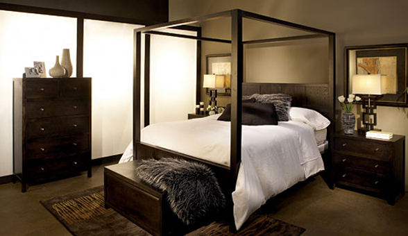 Simple Four Poster Canopy Beds 6