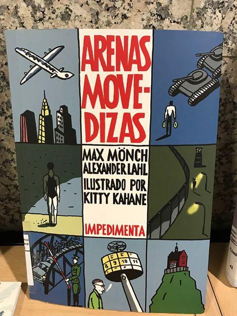 """""""Arenas movedizas"""" de Max Mönch y Alexander Lahl. Ilustrado por Kitty Kahane."""