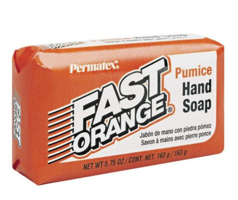 Fast Orange soap