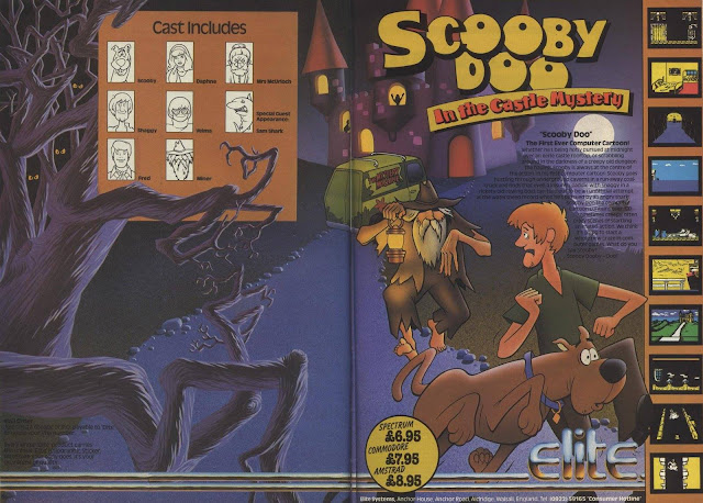 Scooby Doo In The Castle Mystery Game