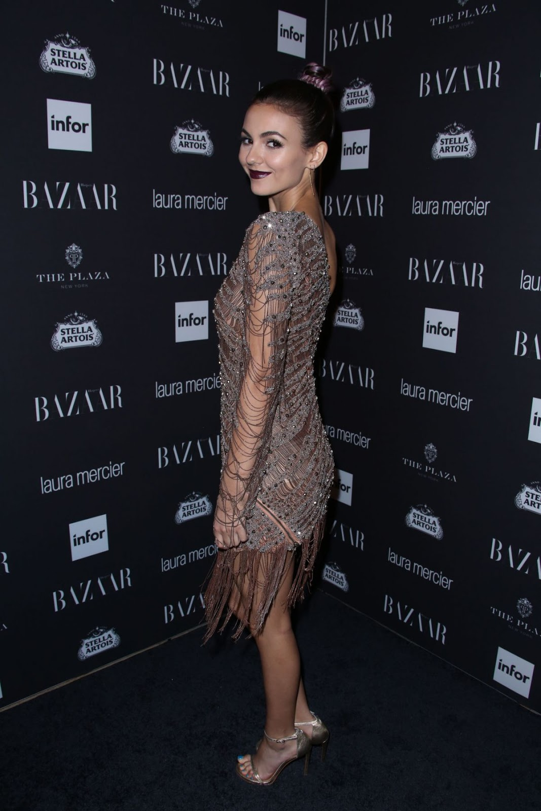 Full HQ Wallappers of Victoria Justice At Harper's Bazaar Celebrates Icons By Carine Roitfeld In New York