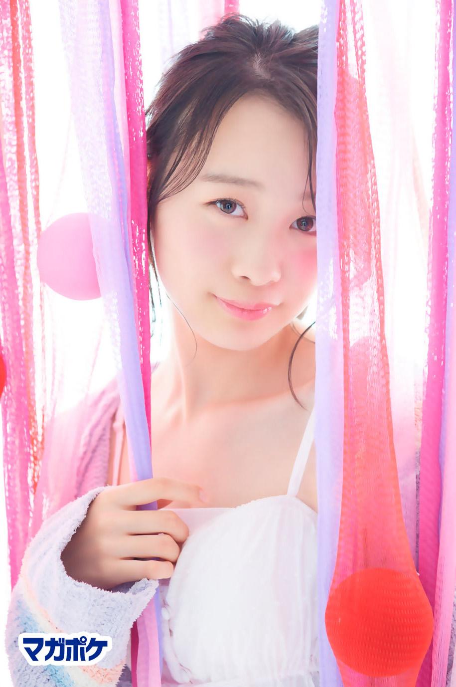 Yokoyama Yui 横山結衣, AKB48 Team8 x Weekly Maga Cover Competition