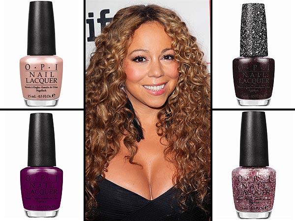 Mariah Careys Opi Nail Polish Collection