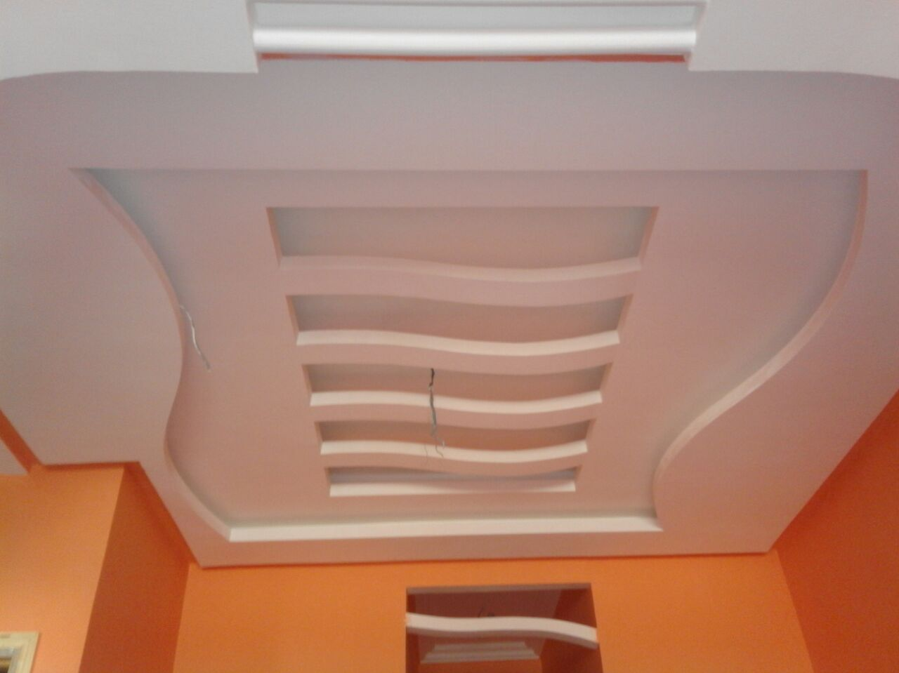 Placoplatre Decoration Plafond Tous Travaux De Placo Platre Et Decor A Tanger Constracotanger
