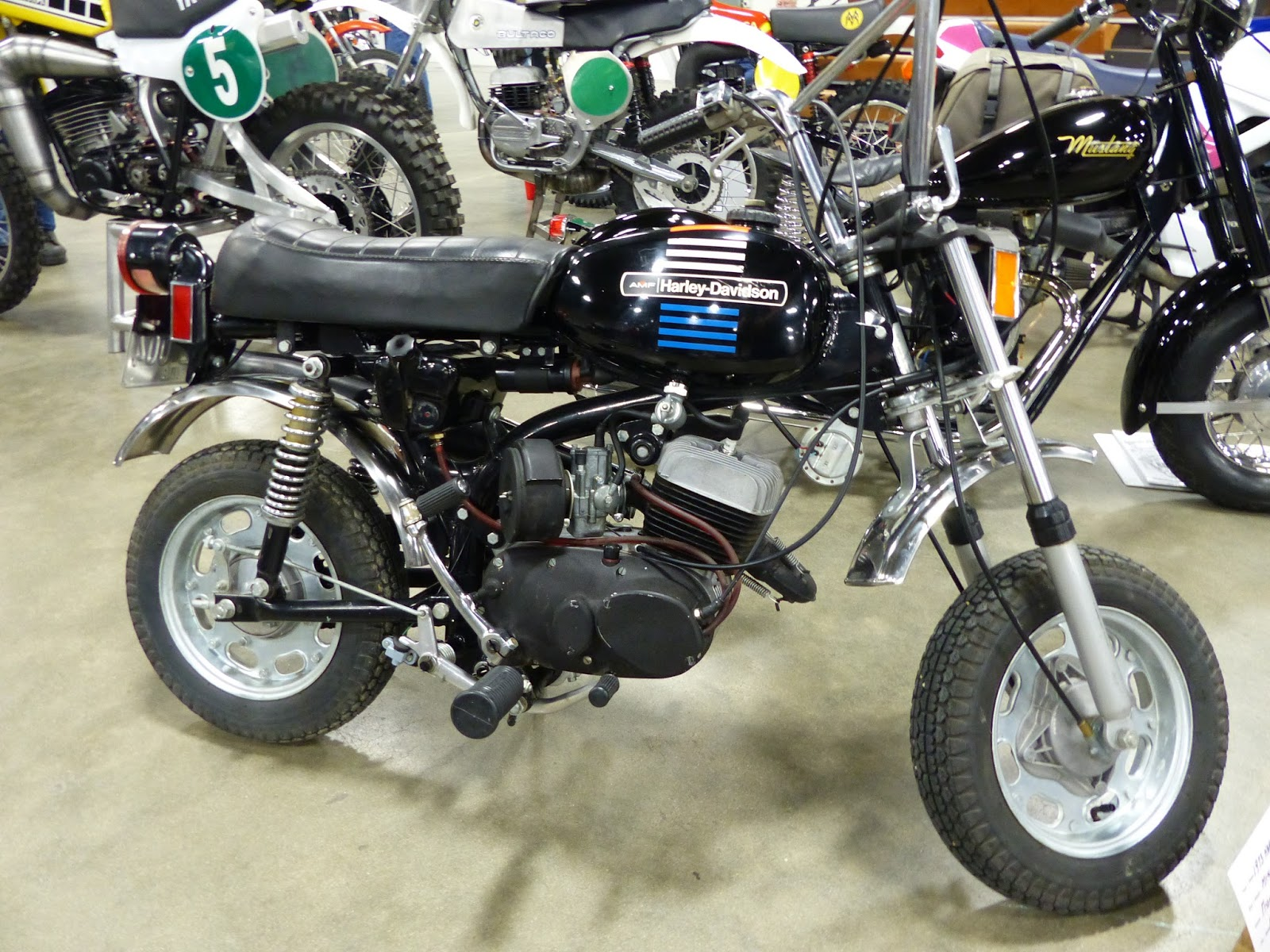 oldmotodude 1973 harley davidson aermacchi 90cc mini bike. Black Bedroom Furniture Sets. Home Design Ideas
