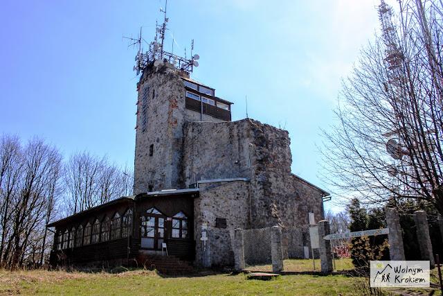 chełmiec wieża na szczycie
