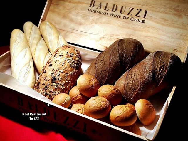 Wild Rice Restaurant Christmas Menu - Bread Selection