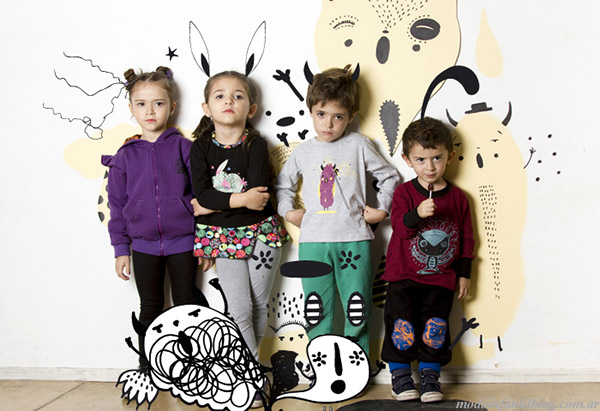 Moda otoño invierno 2015 Haz lo que Quieras ropa para niños.
