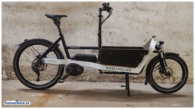 DasPackster 40 ist das agilste Cargo-eBike von Riese & Müller.