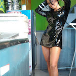 Andrea Rincon, Selena Spice Galeria 5 : Vestido De Latex Negro Foto 114